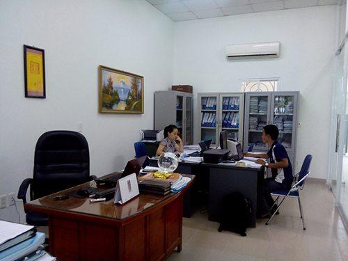 Một góc văn phòng công ty Nam Cang